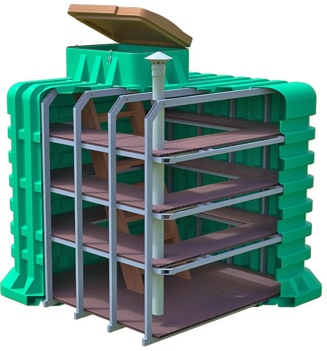 Пластиковый погреб ТОРТИЛА серия Modern - Новый взгляд на безопасное хранение продуктов